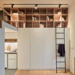 Tiny Studio Apartment In Taipei City With Sleeping Loft