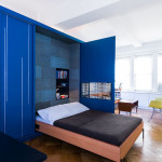 Tiny Unfolding Studio Apartment In Manhattan