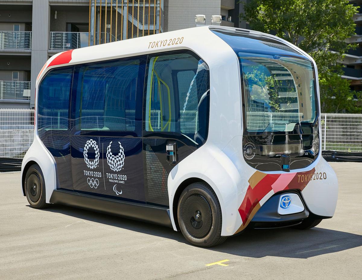Olympic Games Autonomous EV