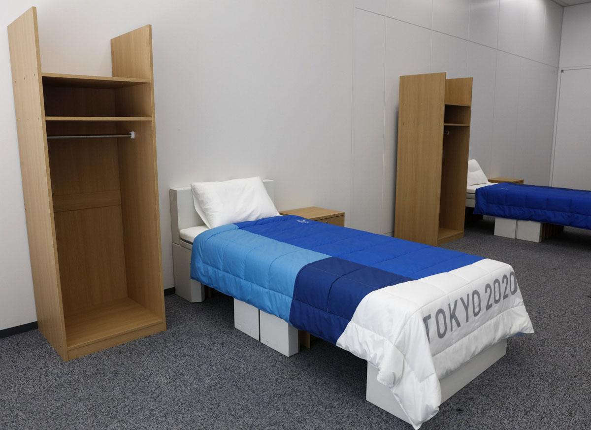 Tokyo 2020 Olympic Athletes' Village Room