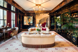 Tommy Hilfiger Decorated New York Plaza Penthouse