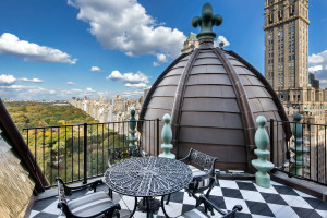 New York Plaza Penthouse Roof Terrace