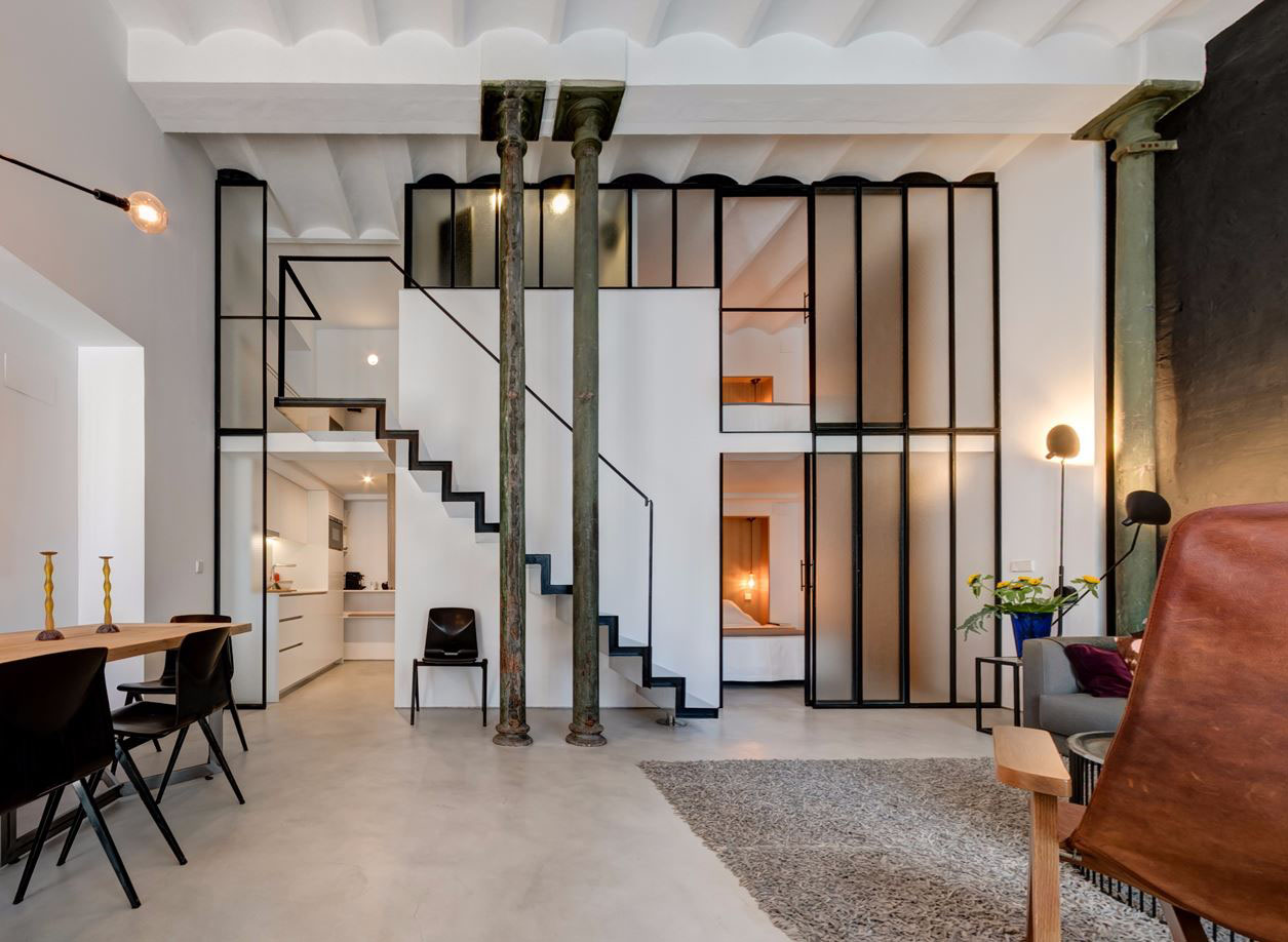 Unique Renovated Loft Apartment in Spain Catered to ...