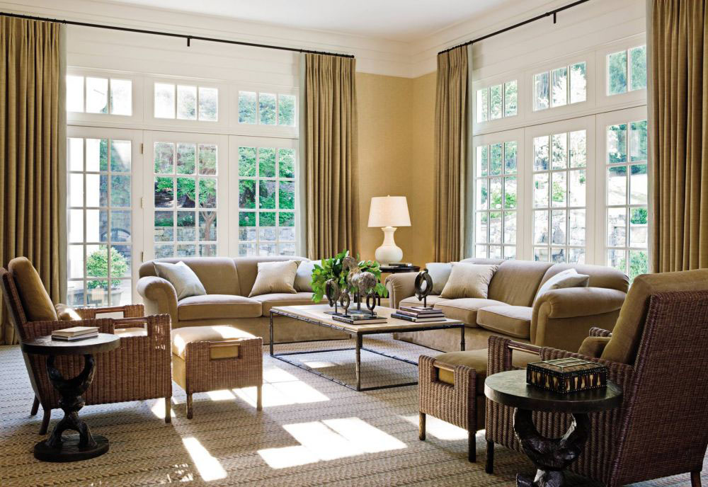 Classic Contemporary Living Room Design