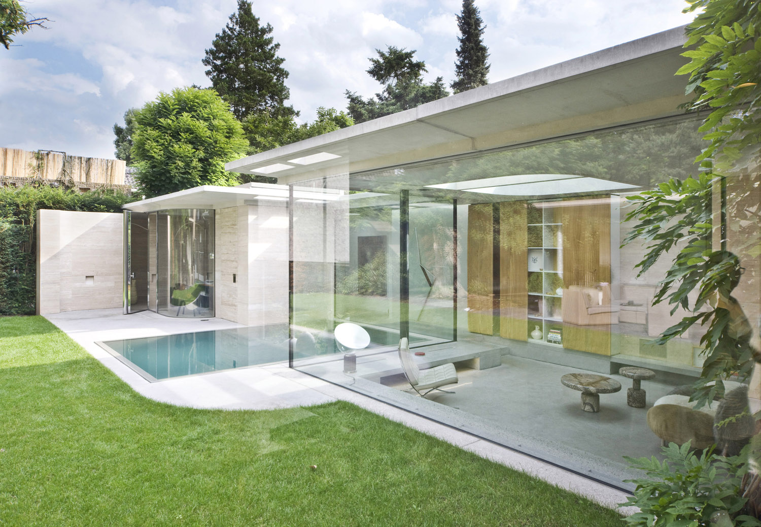 Modern Glass House