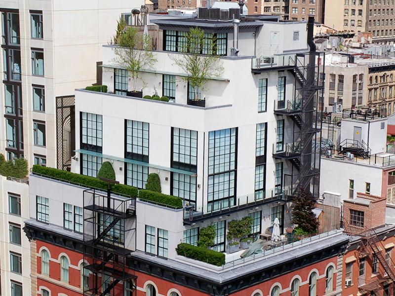 Gorgeous Tribeca Penthouse Apartment Design Idesignarch Interior Design Architecture Interior Decorating Emagazine