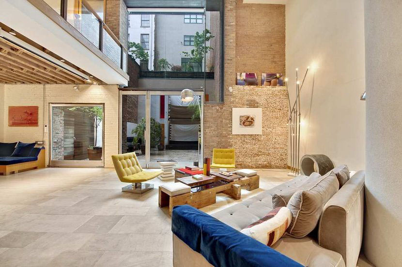 Jaw Dropping Tribeca Condo Duplex Idesignarch Interior