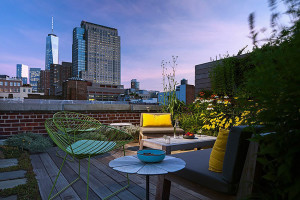 Manhattan Loft Roof Terrace