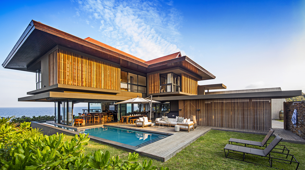 Tropical Modern Ocean View Home South Africa 2