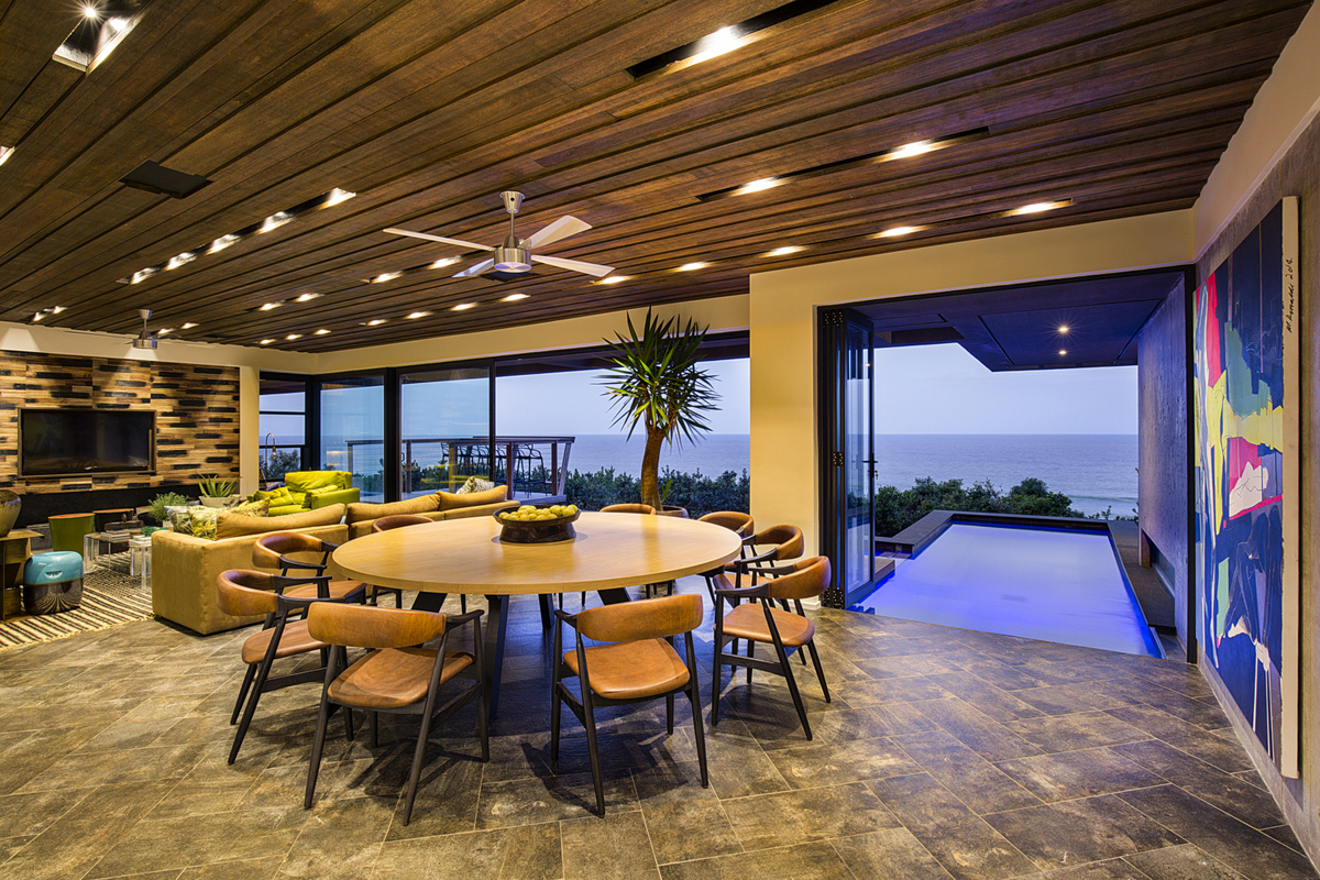 Tropical Modern Ocean View Home South Africa 4