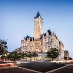 Romanesque Revival Style Trump International Hotel Washington, D.C.