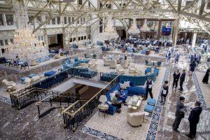 Inside Grand Lobby Trump International Hotel Washington, D.C.