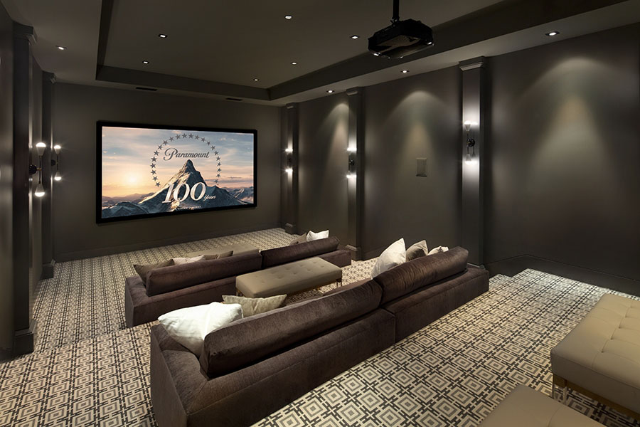Modern Luxury Home Cinema