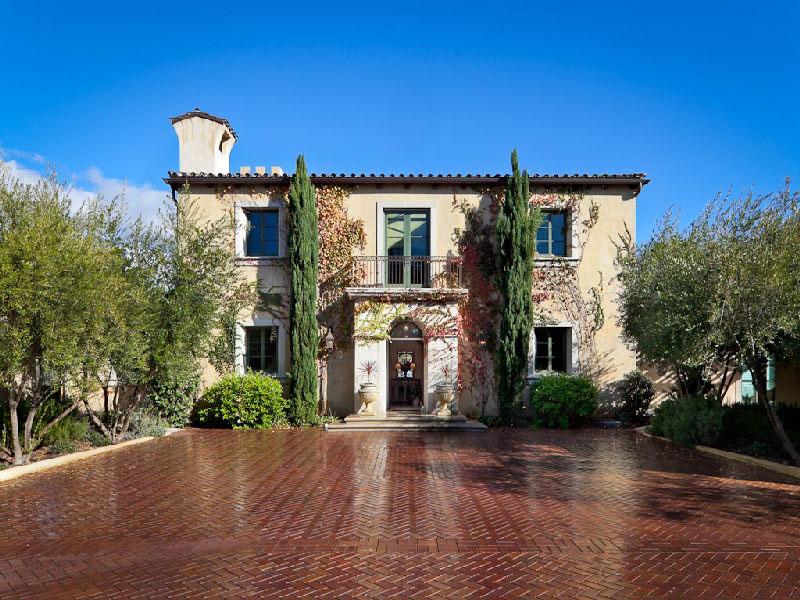 TuscanStyle Villa In Montecito IDesignArch Interior Design Impressive Architectural Home Design Styles