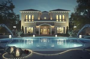 Mediterranean-Villa