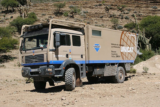 Rugged Mobile Home