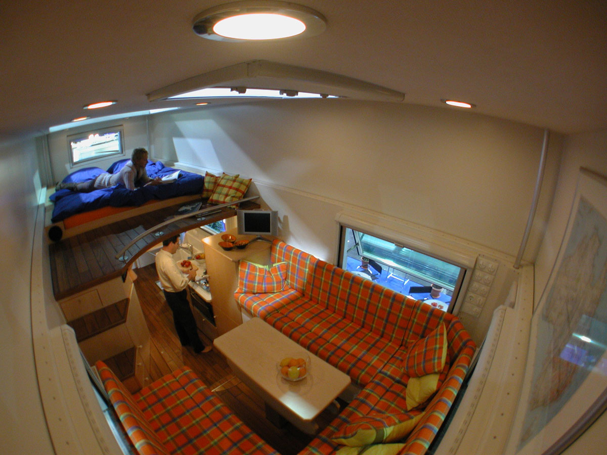 All Wheel Drive Mobile Truck Home | iDesignArch | Interior ...