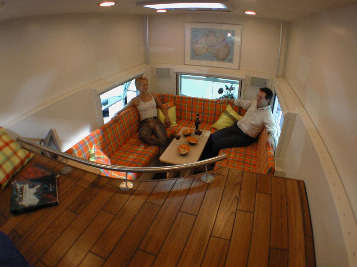 Truck Interior Accessories >> All Wheel Drive Mobile Truck Home | iDesignArch | Interior ...