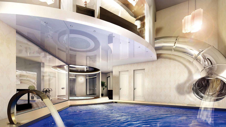 Modern Underground Swimming Pool