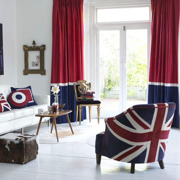 British Theme Decor