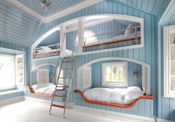 Unique-Bunk-Beds_2 Nautical Decorating Ideas For Kitchens on nautical decorating ideas for office, nautical decorating ideas garden, nautical home decor for kitchens, nautical rugs for kitchens, nautical decorating ideas for decks, nautical decorating ideas for bedrooms, nautical decorating ideas living rooms,