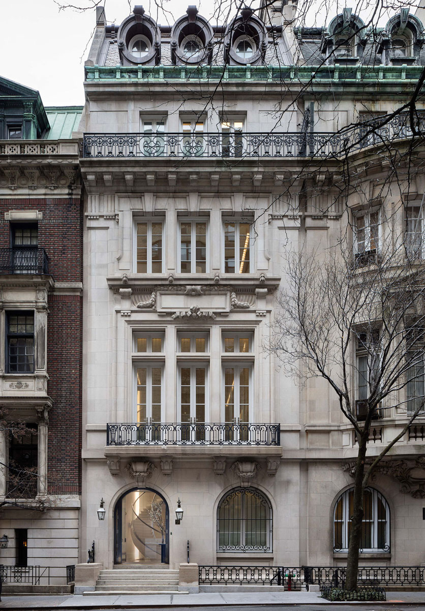 Timeless New York City Townhouse in a Landmarked Limestone Building