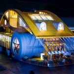 VW Beetle Restaurant And Bar In Austria