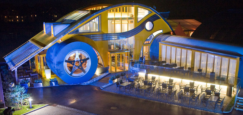 A Beetle Car VW Beetle Restaurant A...