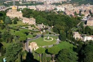 Vatican Gardens Mater Ecclesiae