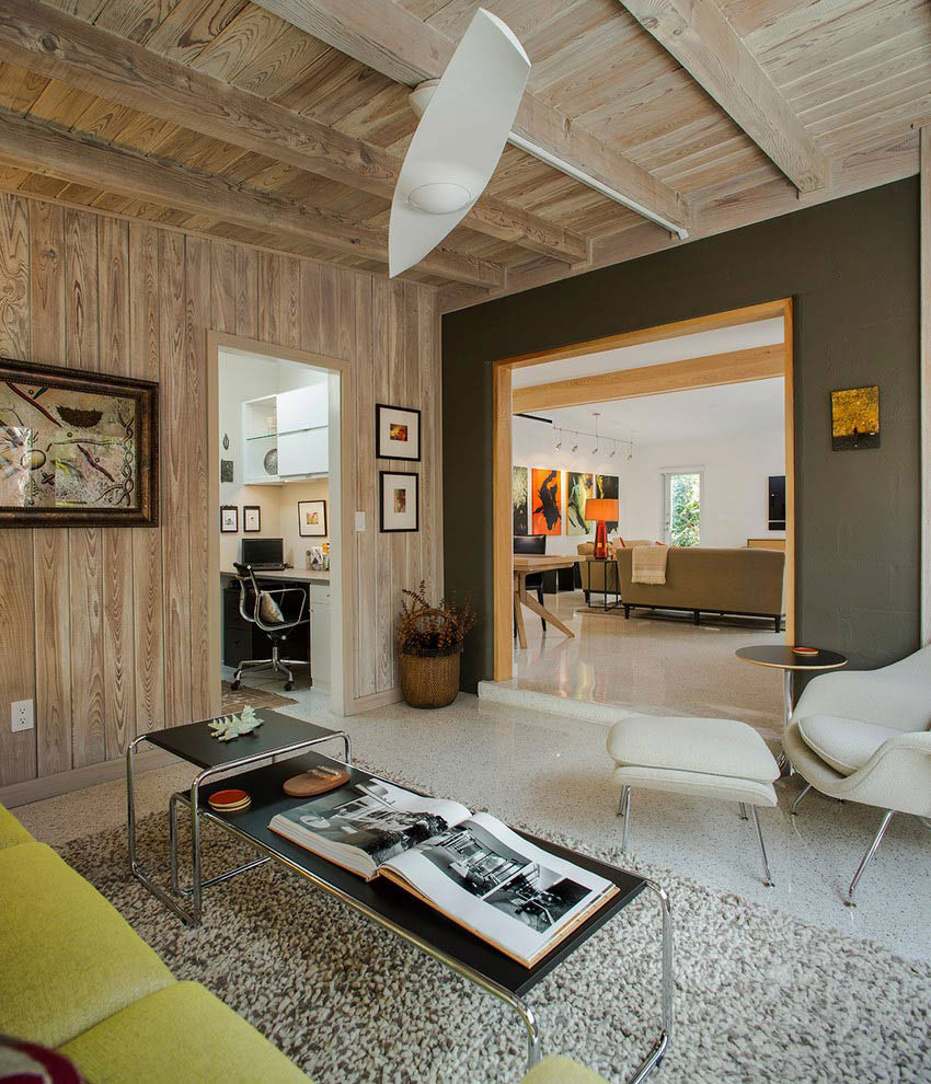Tastefully Decorated Modern Home With Mid Century