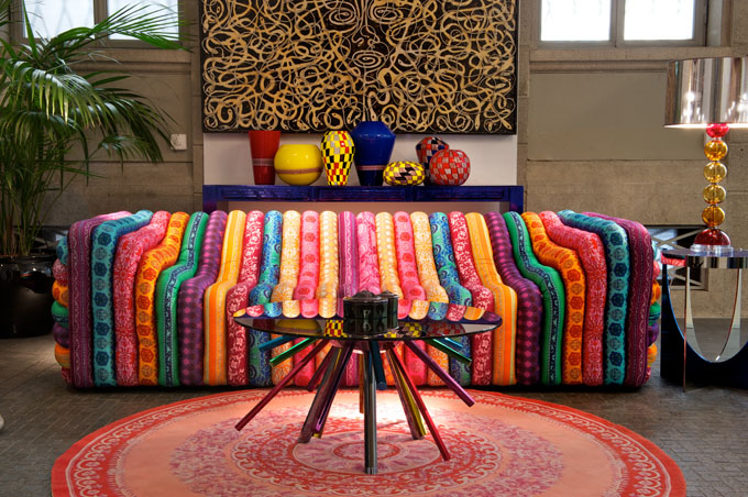 Charmant Versace Bubble Sofa