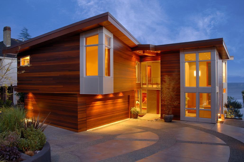 West Coast Modern Beach House Brings The Outside In