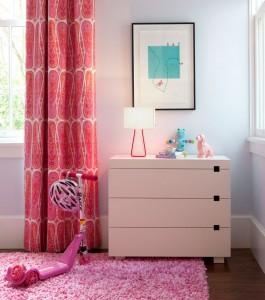 Pink Girl's Bedroom Design