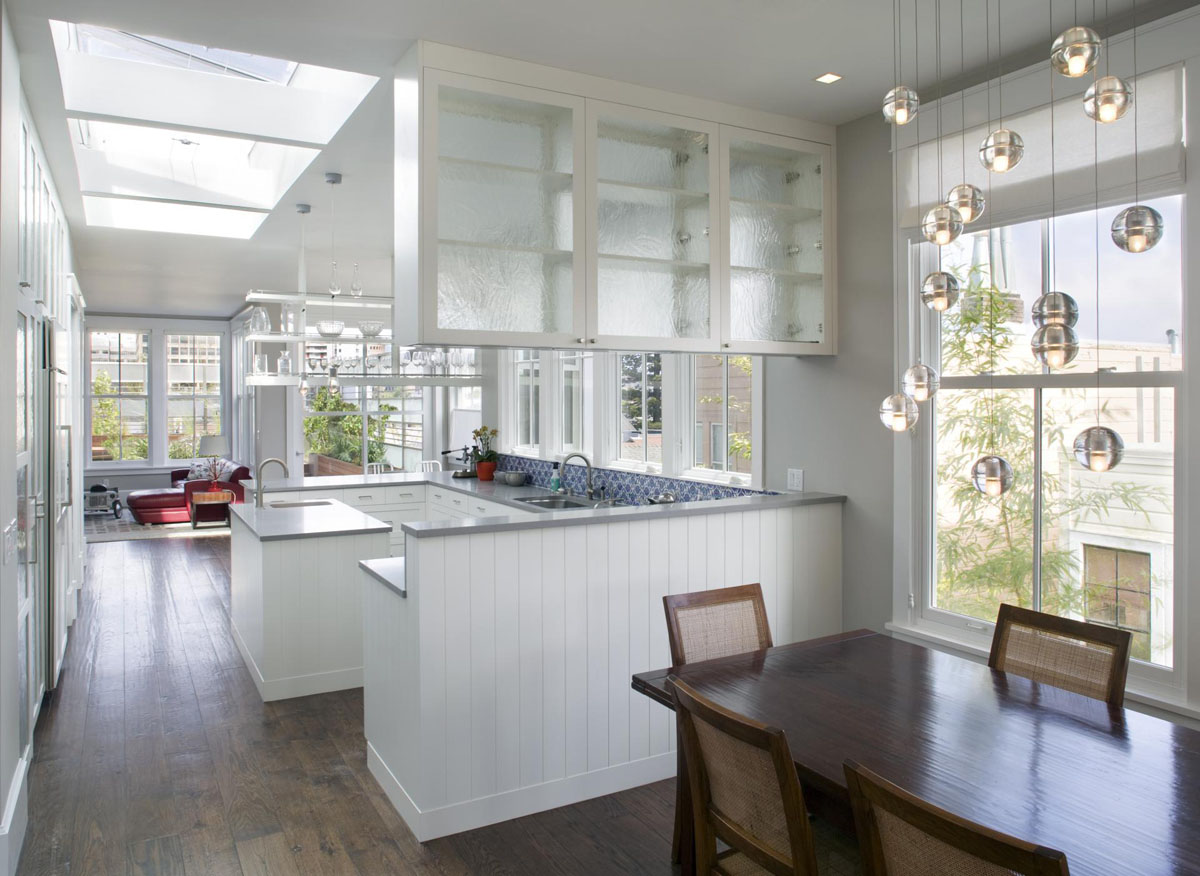 kitchen designs for townhouses townhouse in san francisco gets a modern 940