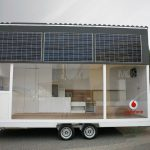 Solar-Powered Vodafone Mobile Tiny House