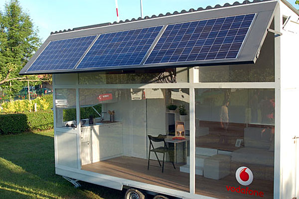 Solar-Powered Mobile Home