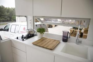 Mobile Tiny Home Kitchen