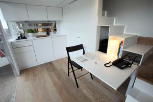 Modern Mobile Home Living Area