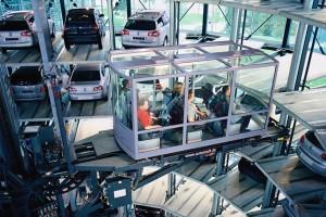 Volkswagen-Autostadt-Glass-Towers