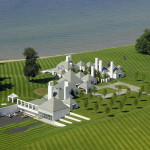 Waterford Estate – Modernist White Castle On Lake Erie
