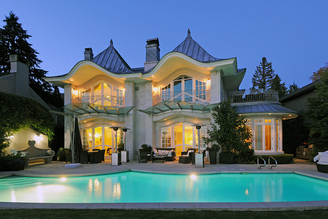 French Style Contemporary Luxury Mansion