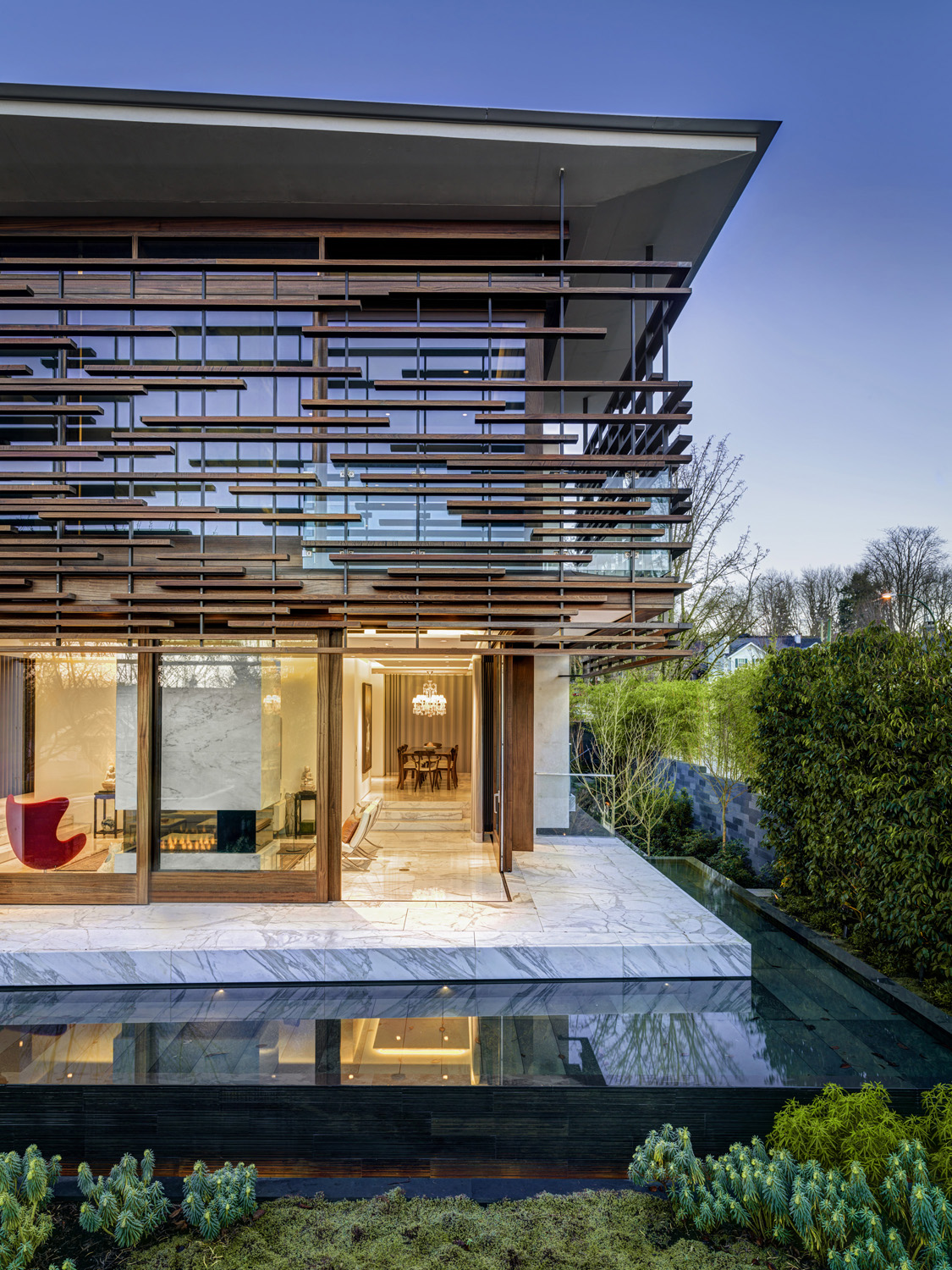 Inspirational Residence Captures West Coast And Oriental
