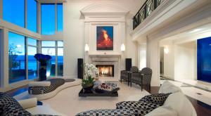 Luxury Apartment with Marble & Walnut Flooring