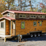Craftsman Style Tiny Home Featuring Cedar Siding And Reclaimed Wood Interior