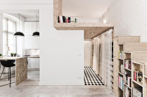Studio Apartment with Loft Bedroom