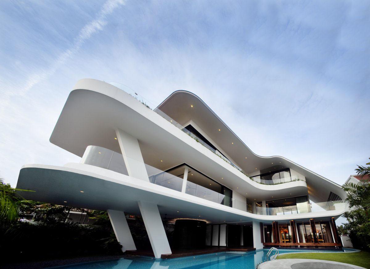 Yacht House Design In Singapore Idesignarch Interior Design