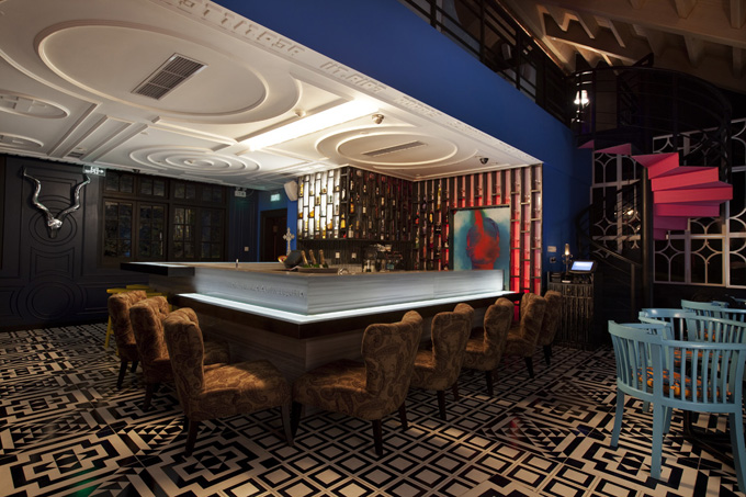 Yucca Lounge Surrealist Interior Design In Shanghai