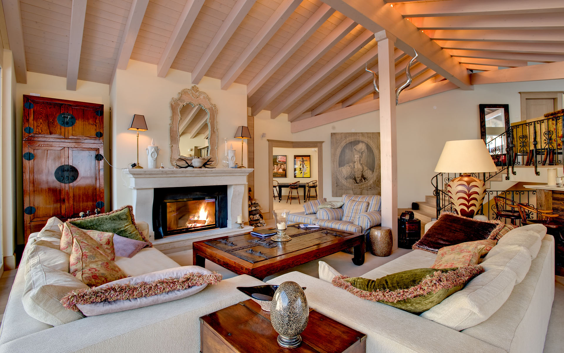 Small Living Room Ideas With Fireplace Sofas