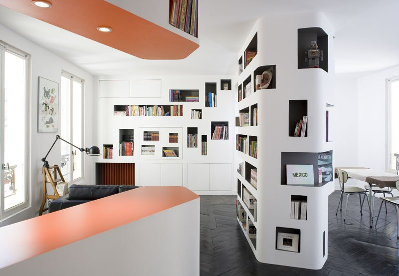 Paris Apartment Makes Good Use Of Tight Space