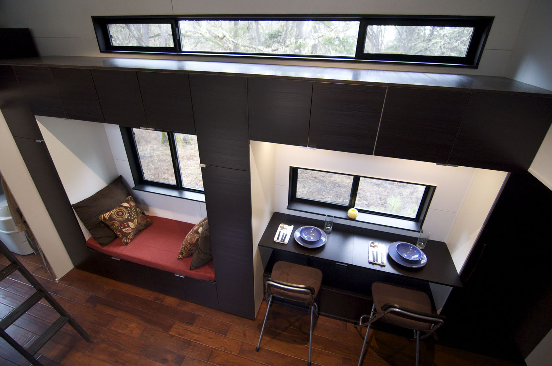 Tiny House with high ceiling